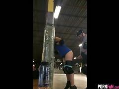 indoor rollerskating track sextape