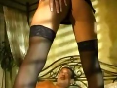 deep fucking and anal sex in heels and sheer