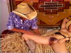 jesse and his gal fuck in the barn
