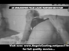 amateur blond on night webcam screwed hard and