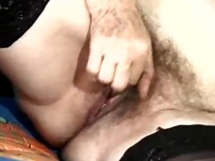 german granny with unshaved slit in classic sex