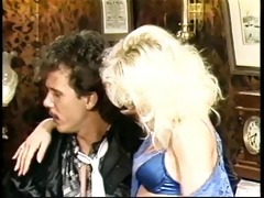 vintage orgy with bunny bleu &; tom byron