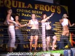classic spring break wet t-shirt contest