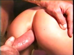 breasted golden-haired acquires anal 2