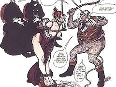 vintage breast fetish servitude comic