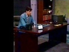 large wobblers fuckfest in the office