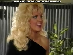 golden-haired oral and vagina pleasure