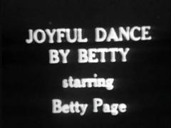 vintage stipper film - b page joyful dance