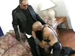 leather cigar smokin cop and bear