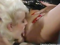blonds sucking darksome cock