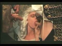 horny marquise sucks dicks