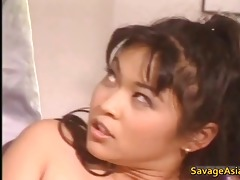 excellent oriental in lingery masturbating part4