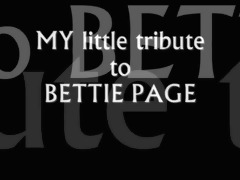 bettie page tribute